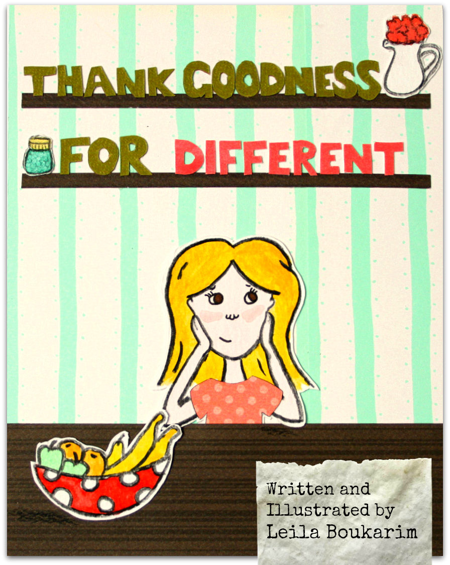 Thank Goodness for Different, a children's ebook about feeling different, self-esteem, confidence