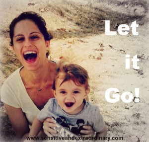 let it go parenting enjoying the moment with your kids