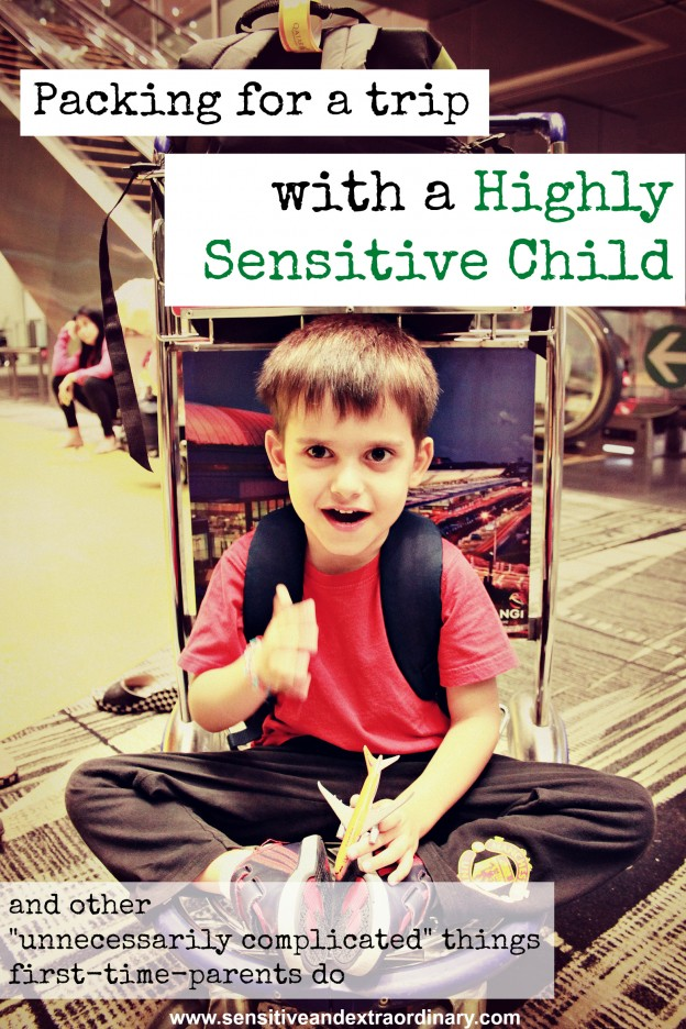 """Packing for a trip with a Highly Sensitive Child, and other """"unnecessarily complicated"""" things first-time-parents do"""