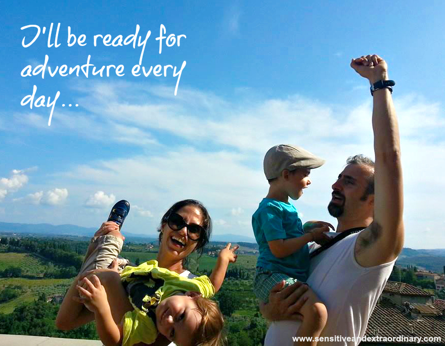ready for adventure, if we were having coffee blog linkup