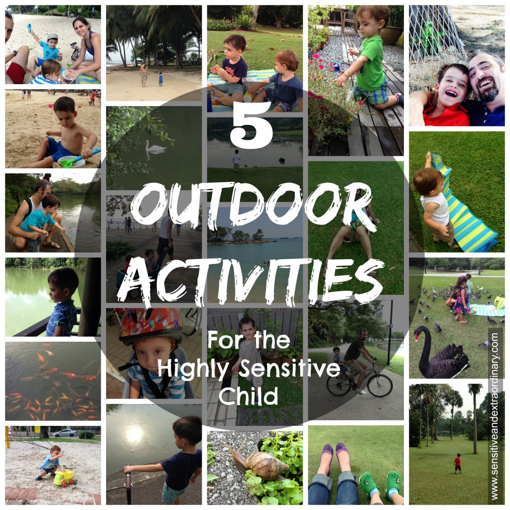 5 Outdoor Activities for the Highly Sensitive Child