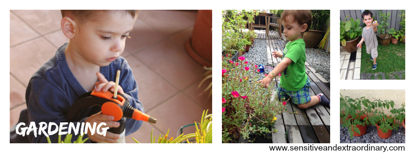 5 Outdoor Activities for a Highly Sensitive Child: Gardening