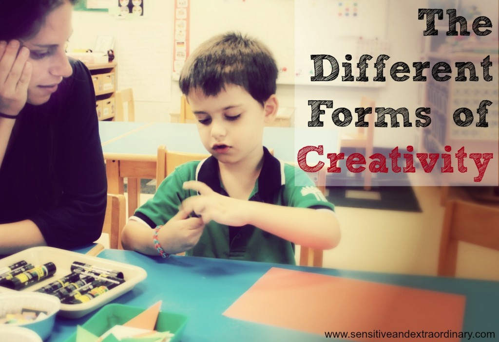 The Different Forms of Creativitiy - The Highly Sensitive Child and Creativity