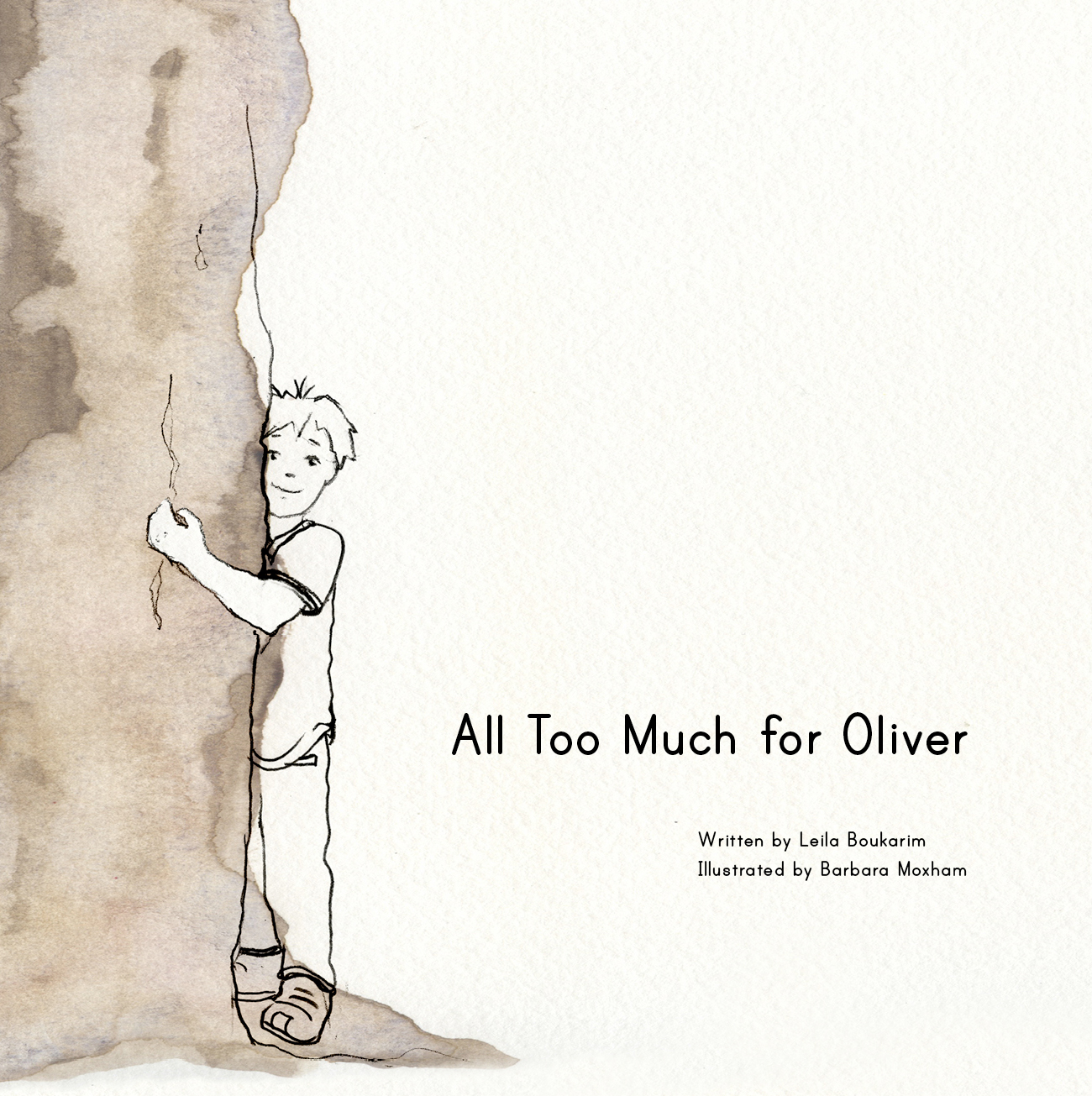All Too Much for Oliver, Picture book for highly sensitive children, my quiet adventures