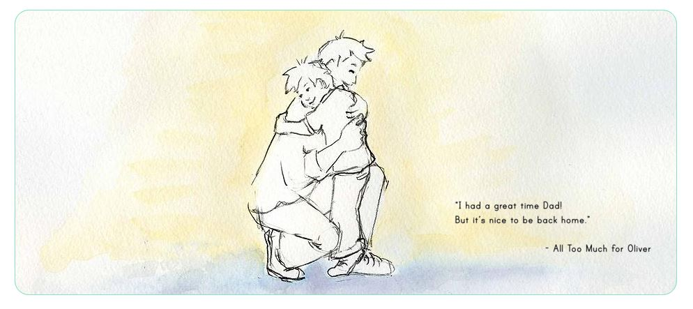 All Too Much for Oliver - Picture book for highly sensitive children