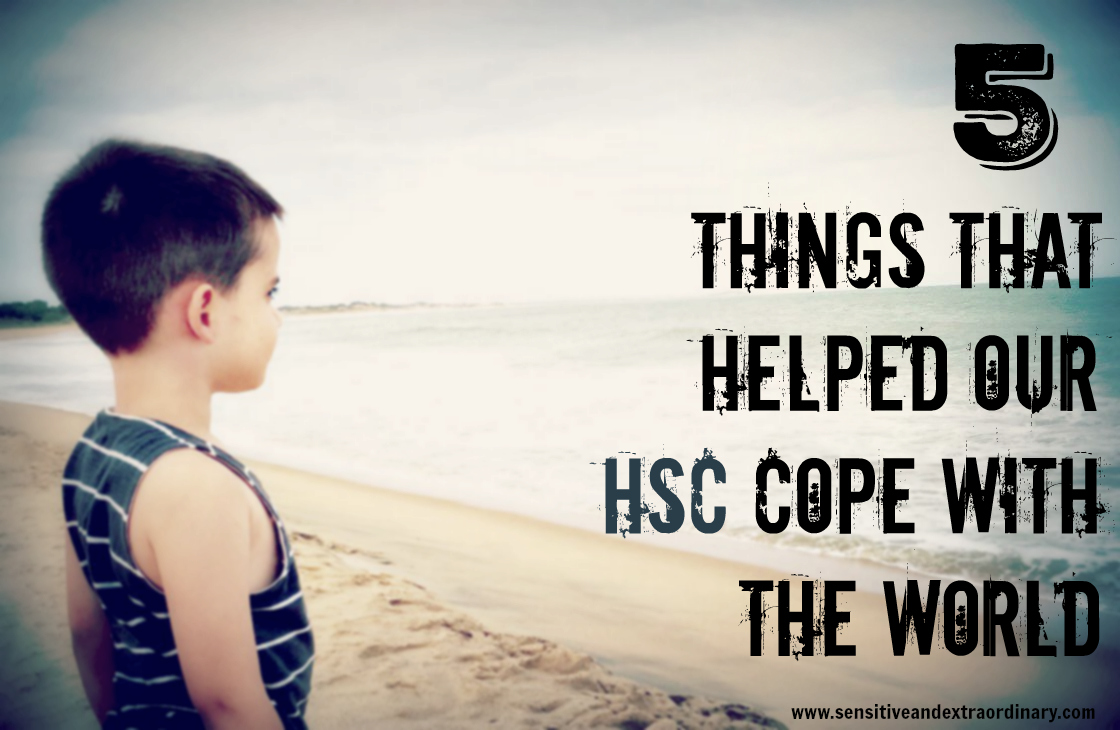 5 Things That Helped Our HSC Cope With The World, highly sensitive, support, understanding, growth