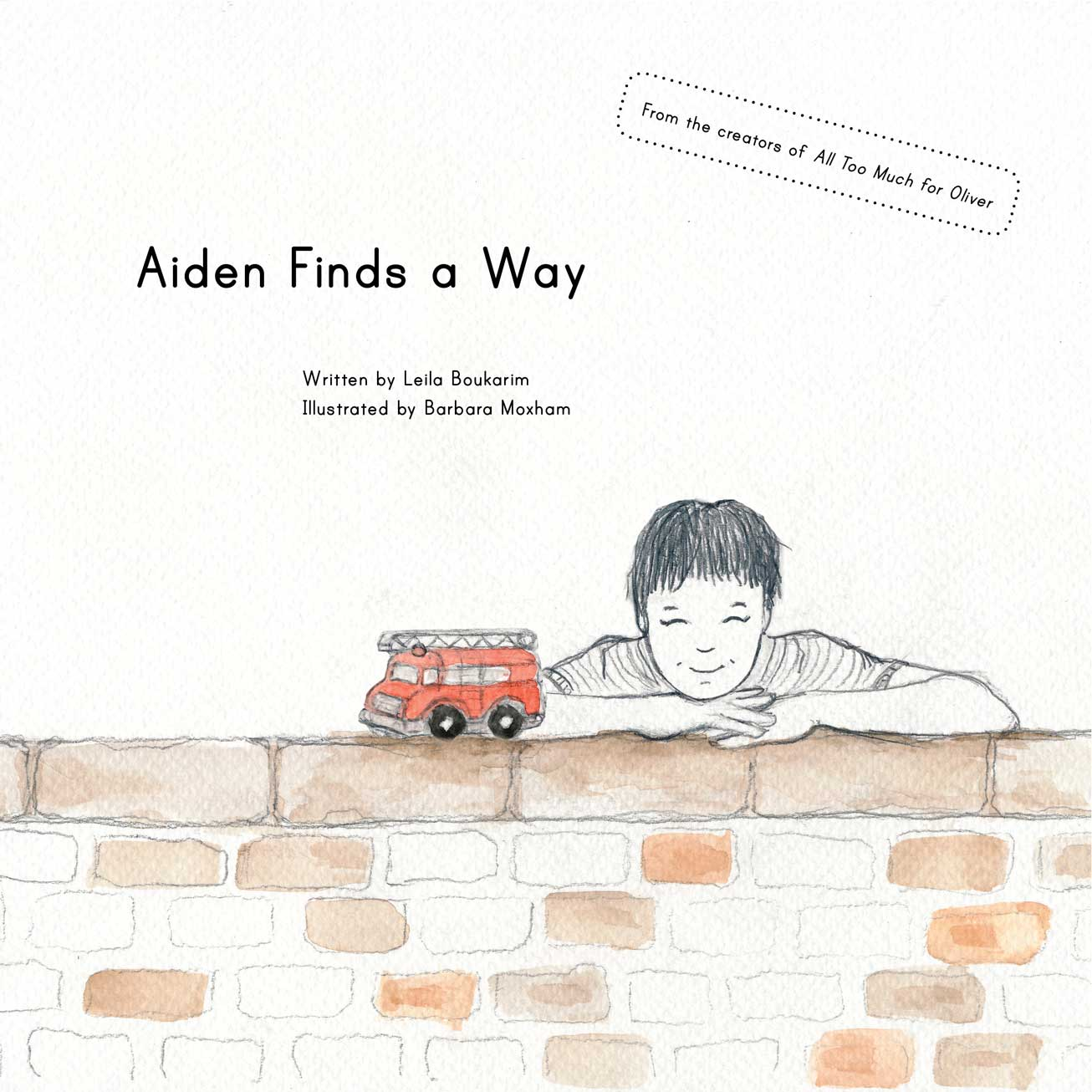 Aiden Finds a Way, Picture Book for Highly Sensitive Children, by My Quiet Adventures